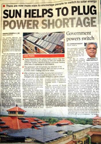 Deccan Chronicle, 24th Mar 2014
