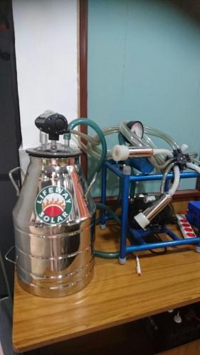 Solar Cow Milking Machine