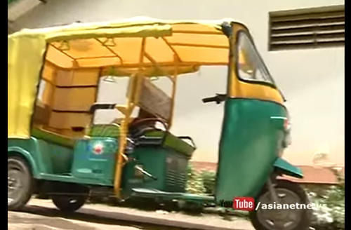 Kerala's first electric auto starts service at Thekkady 2018