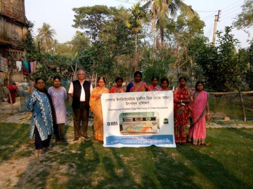 Solar Poultry Incubation Project In Sundarbans Tiger Forest