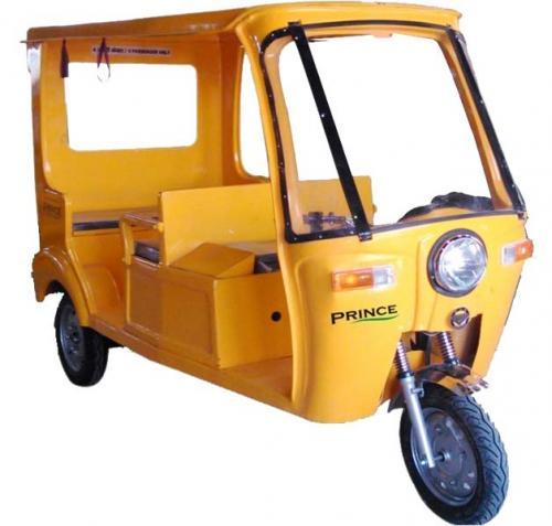 FRP Solar Passenger Rickshaw