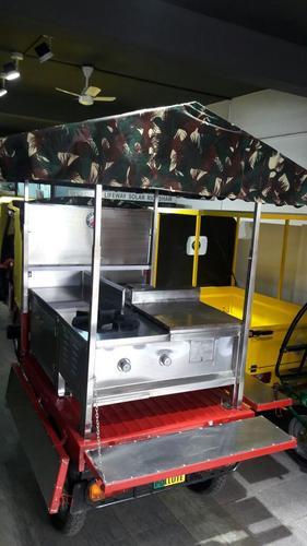 "Solar/ Electric Mobile Kitchen ""Thattukada"""