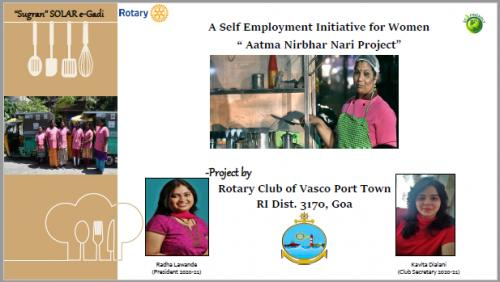 Self Employment Project For Women With Govt. Fund