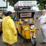Solar freezer electric motor vehicle 2020